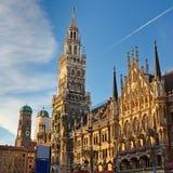 Municipio a Monaco di Baviera Immagini Stock Libere da Diritti