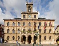 Municipio neogotico di Weimar Fotografia Stock