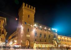 Municipio (Palazzo Municipale) di Ferrara Fotografie Stock Libere da Diritti