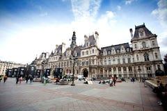 Municipio a Parigi Fotografie Stock Libere da Diritti