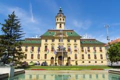 Municipio in Seghedino fotografie stock libere da diritti