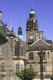 Municipio, Sheffield, Inghilterra Fotografia Stock