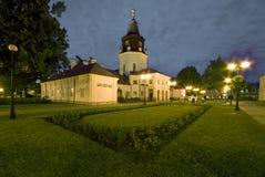 Municipio in Siedlce, Polonia Fotografia Stock Libera da Diritti