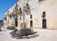 Municipio. Sternatia. La Puglia. L'Italia. Fotografia Stock Libera da Diritti