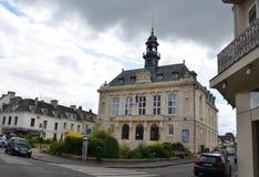 Municipio, Vernon, Francia Fotografie Stock