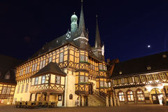 Municipio in Wernigerode Immagine Stock