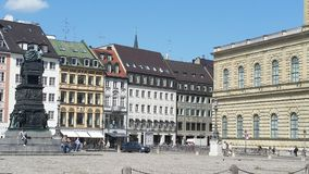 Munique Residenz Duitsland royalty-vrije stock afbeelding