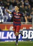 Munir El Haddadi av FCet Barcelona Royaltyfria Bilder