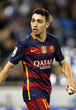 Munir El Haddadi do FC Barcelona Imagem de Stock Royalty Free
