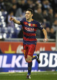Munir El Haddadi of FC Barcelona royalty free stock images