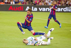 Munir von FC Barcelona Stockbild