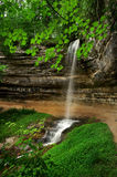 Munising Falls. Royalty Free Stock Image