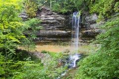 Munising Falls Arkivbilder