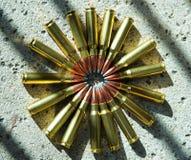 Munitie 009 van het geweer Stock Afbeelding