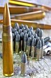 munitie Royalty-vrije Stock Foto's