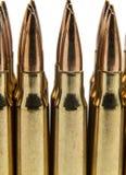 308 munitie Royalty-vrije Stock Foto