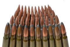 Munitie van rifled carabine Stock Afbeeldingen