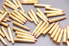 Munition 45 Stockfotografie