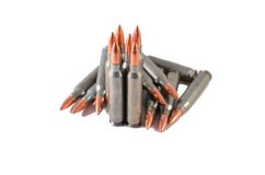 Munition AR 15/M 16 Stockbild