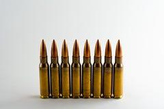 munitions de 7.62mm Image stock