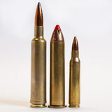 Munitions de fusil Images libres de droits