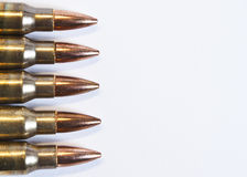 Munitions de fusil Images stock