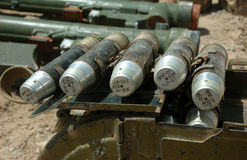 Munitions de guerre Images stock
