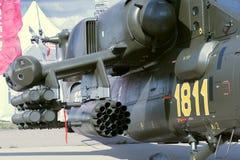 Munitions de l'hélicoptère Me-28 Photographie stock libre de droits