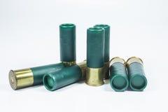 Munitions du fusil de chasse no.12 Photographie stock libre de droits