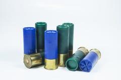 Munitions du fusil de chasse no.12 Photos libres de droits
