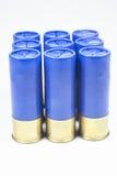 Munitions du fusil de chasse no.12 Photographie stock