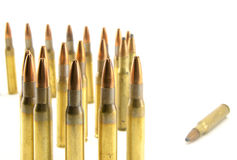 Munitions pour le fusil Photo stock
