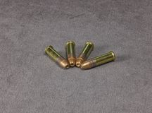 Munitions Rimfire Images libres de droits