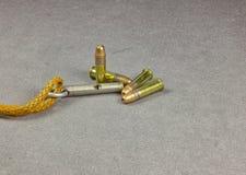 Munitions Rimfire Images libres de droits