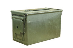Munitionskasten Stockfotografie