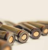 Munitionsmakrobild Rückseite der AK-47oberteile Lizenzfreies Stockbild