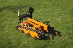 Munitionsräumdienst-Roboter stockfotos