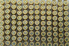 Munizioni 003 del fucile Fotografie Stock
