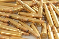 Munizioni del fucile Fotografia Stock
