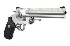 Munizioni dell'arma da fuoco del revolver illustrazione di stock
