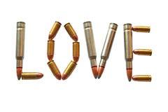 Munizioni di amore Fotografia Stock Libera da Diritti