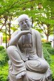 Munk Statue Fotografering för Bildbyråer
