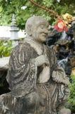 Munk Statue Arkivfoto
