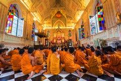 munkar inom kristen kyrka Royaltyfri Bild
