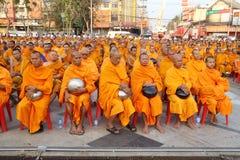 Munkar väntar det lovande för att gå till allmänheten Royaltyfri Bild