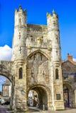 Munkstång, torn i York, Yorshire, UK arkivbilder