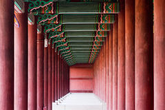 Munmyo Confucian Shrine in Seoul, South Korea Stock Photo