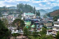 Munnar city in Kerala, India stock images