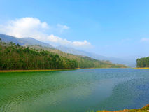 Munnar Eco Point Lake. Munar Eco Point, Valley, and Water Body, Mountain, Forest Kerala India Royalty Free Stock Images