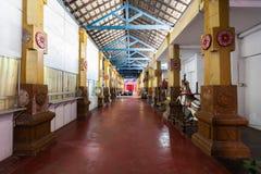 Munneswaram temple, Sri Lanka. CHILAW, SRI LANKA - FEBRUARY 09, 2017: Munneswaram temple is an important regional Hindu temple complex in Sri Lanka royalty free stock image